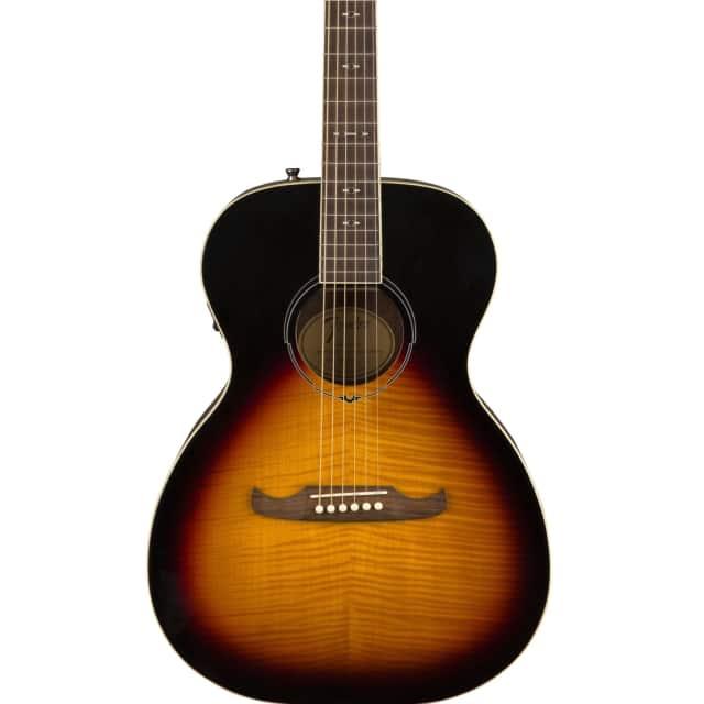 Fender FA-235E Concert Size Acoustic Electric Guitar in 3 Tone Sunburst image