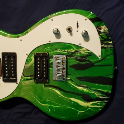 First Act Me321  Custom Green White And Black Dipped for sale