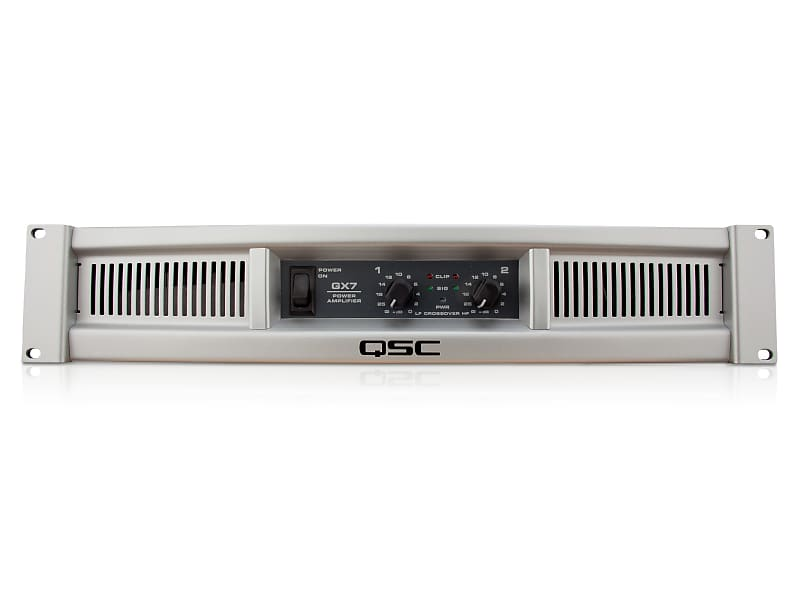 QSC GX7 2-Channel Power Amplifier, 1000W at 4 Ohm | Reverb