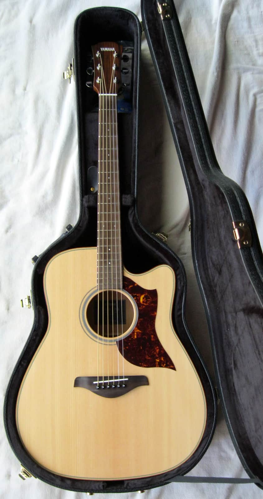 2015 yamaha a series a1fm dreadnought acoustic electric for Yamaha series a