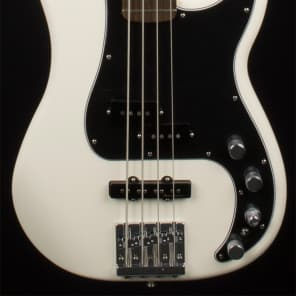 Fender Deluxe Active Precision Bass Special Rosewood Olympic White for sale