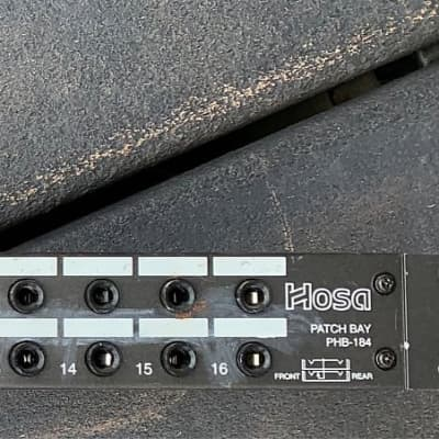 16 channel patch bay TRS Hosa PHB-184