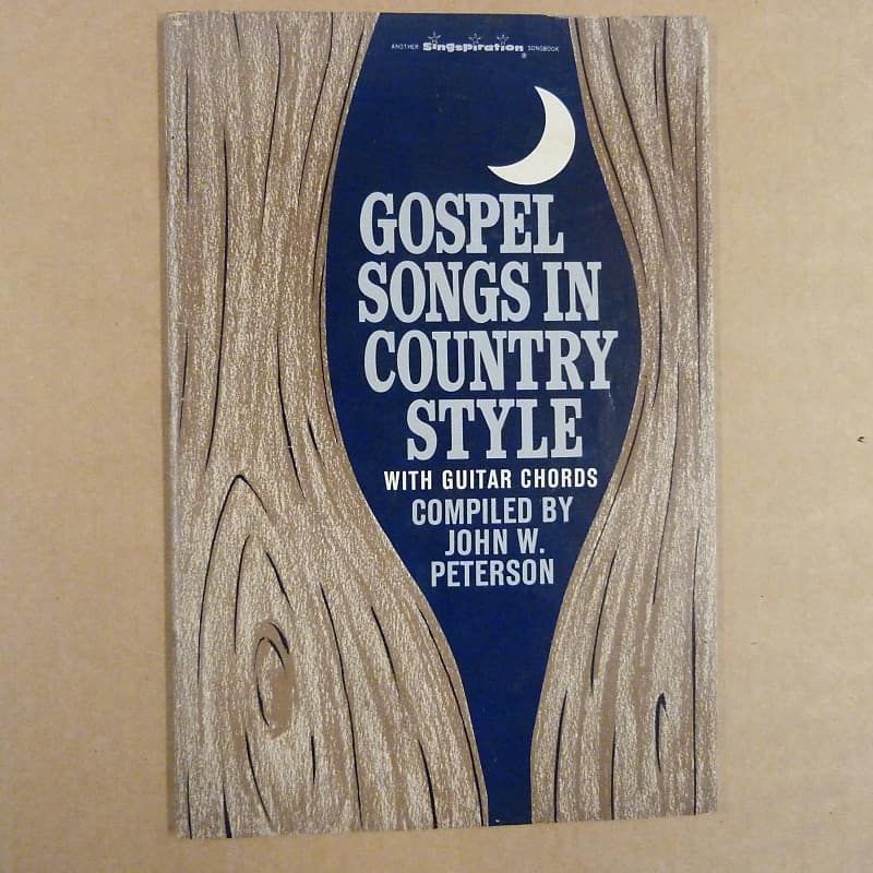 Songbook Gospel Songs In Country Style With Guitar Chords Reverb