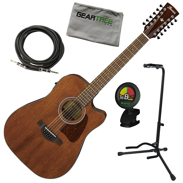 ibanez aw5412ce opn open pore 12 string acoustic electric reverb. Black Bedroom Furniture Sets. Home Design Ideas