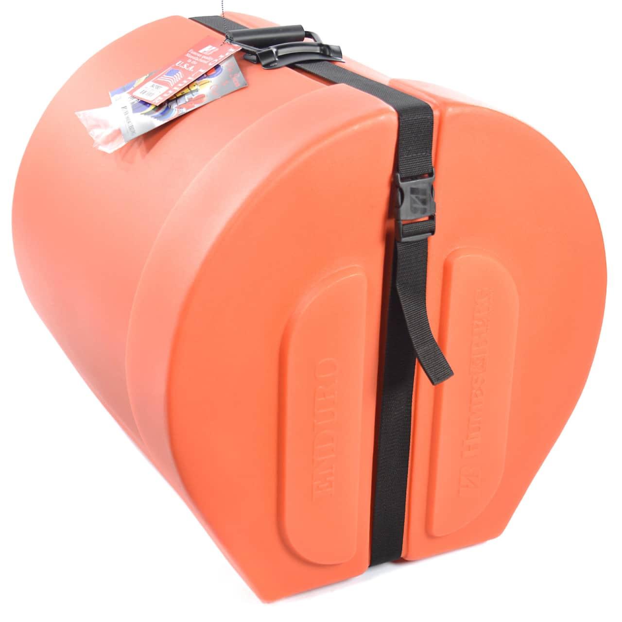Humes berg 16x16 enduro floor tom case w foam orange for 16 floor tom case