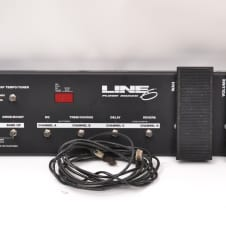 Line 6 Floorboard long Board Wah and Volume Pedal/Footswitch