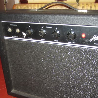 Vintage 1969 Harmony Model 7084 Combo Amp w/ Tremolo Black for sale