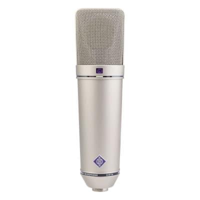 NEUMANN U 87 AI Switchable Studio Multipattern Large Dual Diaphragm Condenser Microphone