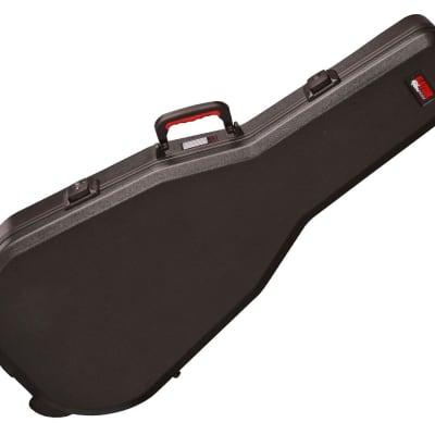 Gator GPE-DREAD-TSA ATA Molded Dreadnought Acoustic Guitar Case with TSA Latches