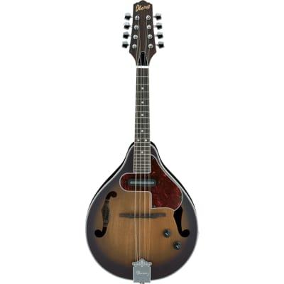 Ibanez A-Style Acoustic Electric Mandolin Open Pore Vintage SB M510EOVS for sale