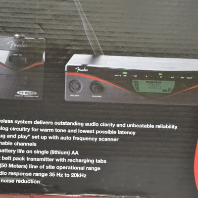 Fender Guitar Wireless System, FWG2020