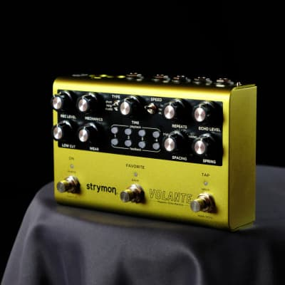 Used Strymon Volante Tape Delay Guitar Effect Pedal W/ Box And Power Supply