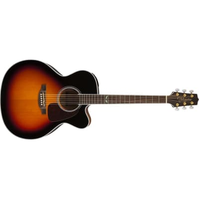 Takamine GJ72CE Jumbo Electro Acoustic, Brown Sunburst for sale