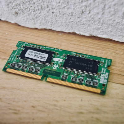 KORG EXB-M256 memory expansion board for M3 keyboard card in mint condition