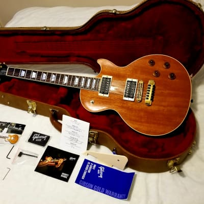 Gibson Les Paul Standard  2016 rare Mahogany top w Seymour Nazgul and Schaller roller and fine tuner for sale