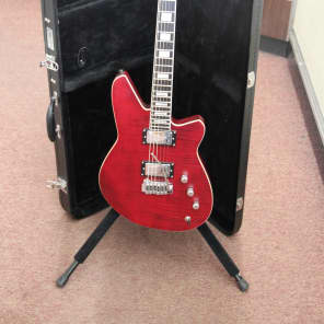 Reverend Bayonet RAHC Wine Red Flame Maple