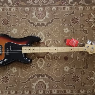 2019 Fender Deluxe Active Precision Bass Special in 3TS w/ Gig Bag & Pro Setup for sale