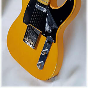 Dillion  Classic Tele in lightly Aged Butterscotch for sale