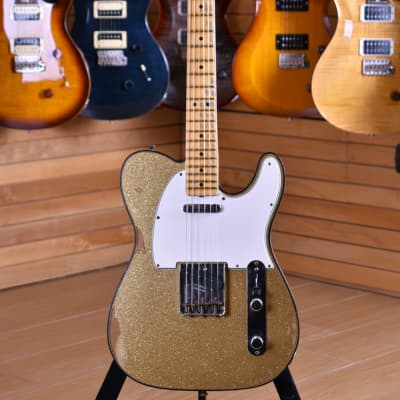 Fender Custom Shop W20 Limited Edition '63 Telecaster Custom Relic Aged Gold Sparkle for sale