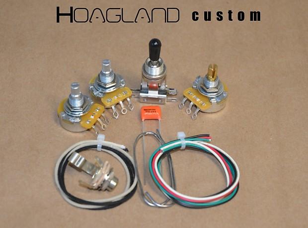 Terrific Hoagland Custom Flying V Wiring Harness Kit Matched Cts Reverb Wiring 101 Olytiaxxcnl