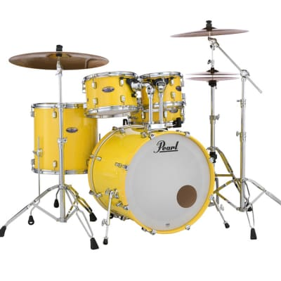 "DMP1616F/C228 Pearl Decade Maple 16""x16"" Floor Tom Drum SOLID YELLOW"