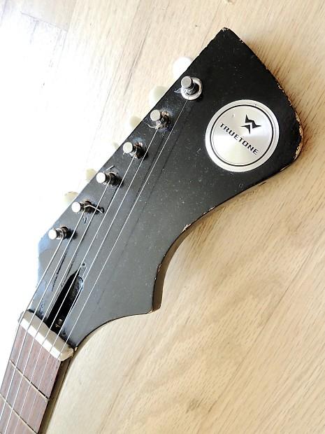 1966 Truetone By Kay Vanguard Ii Vintage Electric Guitar