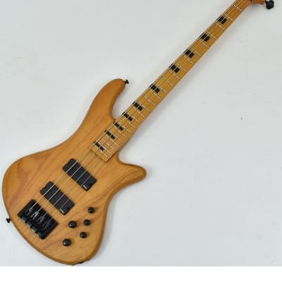 Schecter Session Stiletto-4 Electric Bass Aged Natural Satin B-Stock