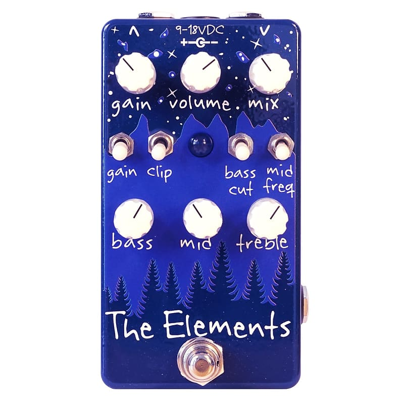 Dr. Scientist The Elements Dual-Channel Overdrive / Distortion Effects Pedal