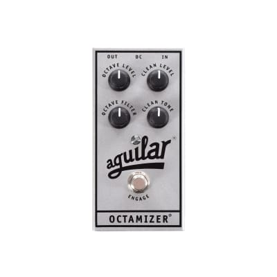 Aguilar 25th Silver Anniversary Edition Octamizer for sale
