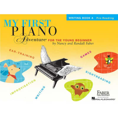 My First Piano Adventure for the Young Beginner - Writing Book A: Pre-Reading