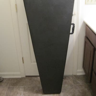 Coffin Case Bass Guitar Case Black for sale