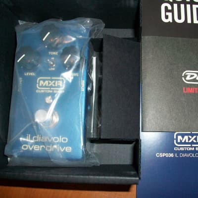 MXR CSP036 Il Diavolo [Brand New (Sealed)] + Dunlop 18V Adapter *FREE Shipping*