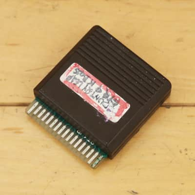 1980s Yamaha DX RAM Data ROM Card for DX1, DX5, DX7 Synthesizers Vintage Synth Sounds Cartridge