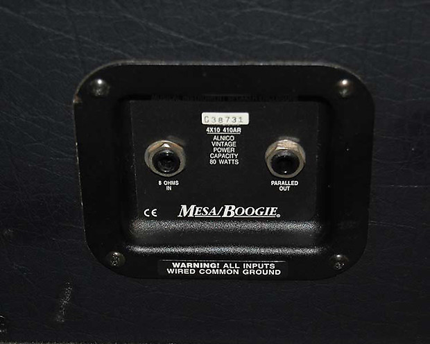 Used Mesa Boogie Bass Cab