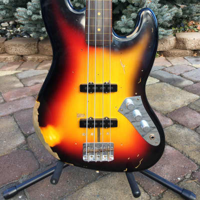 Fender Custom Shop Jaco Pastorius Jazz Bass Fretless Relic for sale