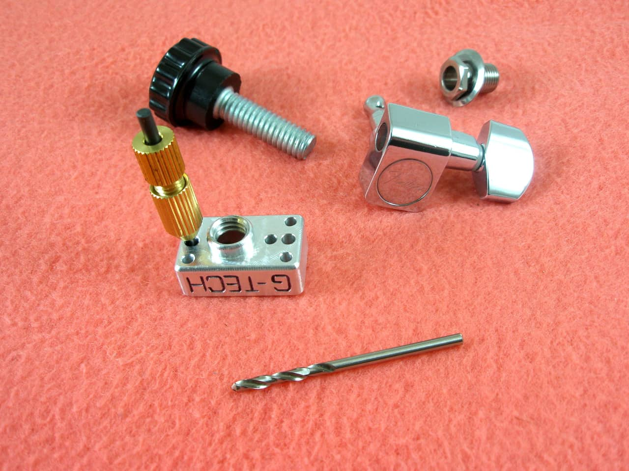 5 Off G Tech Guitar Works Tuner Drilling Jig Single