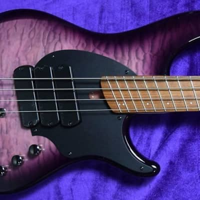 Dingwall Combustion (4-String), Ultra Violet / Pau Ferro / 3 Pickups *In Stock!