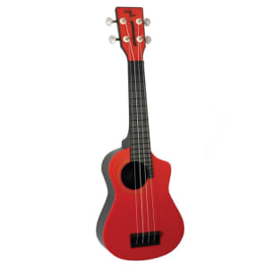 Eddy Finn Beachcomber EF-PSRD Uke Soprano Ukulele with gig bag Re for sale