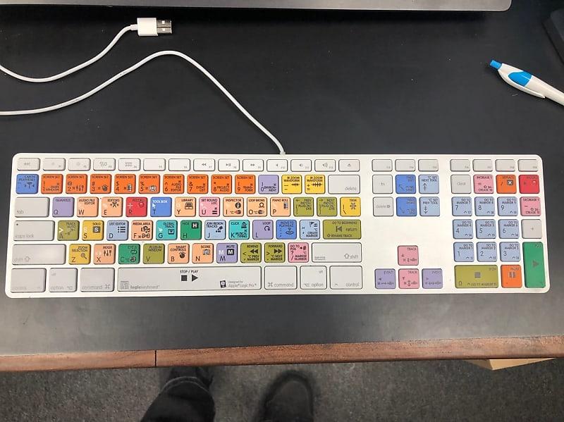 logickeyboard advanced line logic pro x keyboard white reverb. Black Bedroom Furniture Sets. Home Design Ideas
