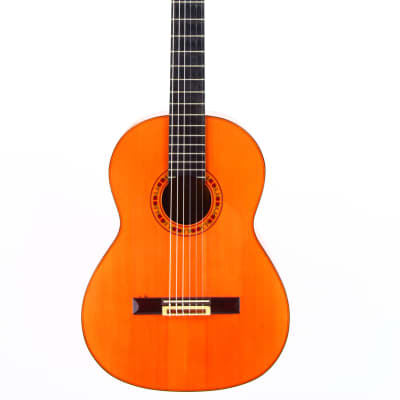 Juan Estruch Flamenco guitar yellow label 1976