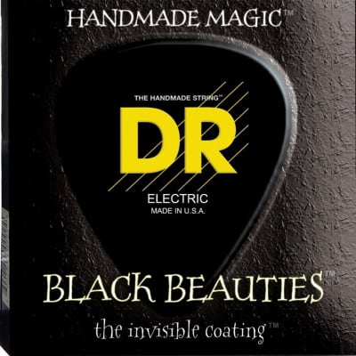 DR Strings BKB45 Black Beauties Elec Bass String