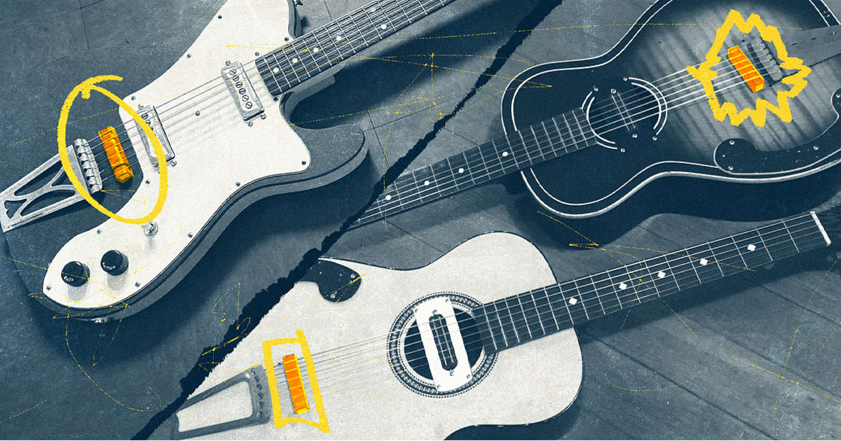 The Rubber Bridge Guitars Taking Over Indie Music