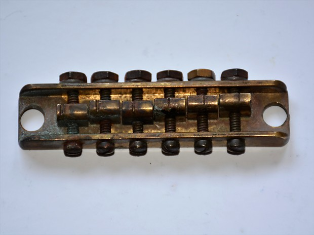 Starz Guitar Alembic Brass Bridge Jerry Garcia Alligator Reverb