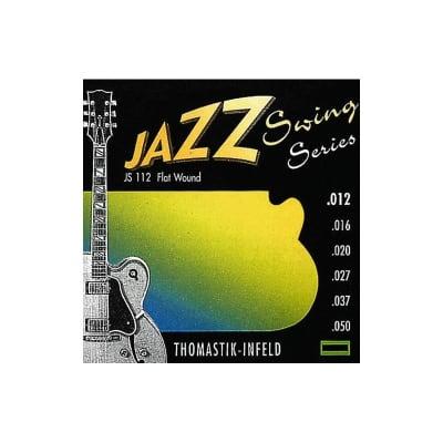 Thomastik JS112 Jazz Swing Flatwound Electric Strings 12-50