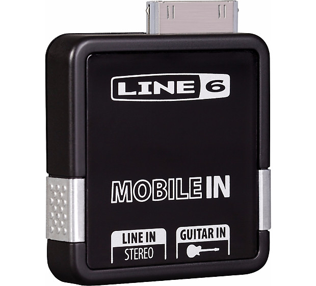 Line 6 Mobile-In iOS 30-pin Core Audio Interface POD for iPhone iPad iPod  Touch JamTool Free Ship