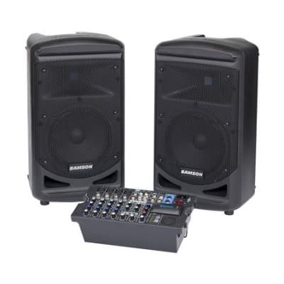 Samson XP800B 800 Watt Portable Bluetooth PA System
