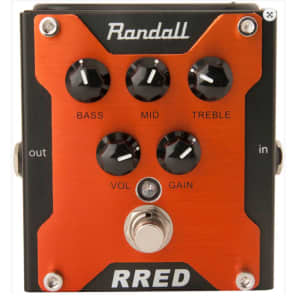 Randall RRED Channel Overdrive Pedal for sale