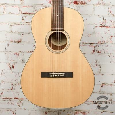 Guild P-240 Memoir Acoustic Guitar - Natural with Headstock Repair x0587 (USED) for sale