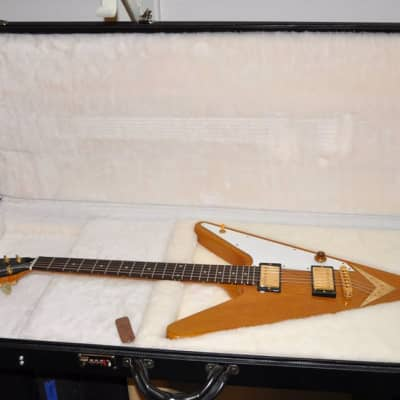 Gibson  Reverse Flying V . First run. 2006 natural