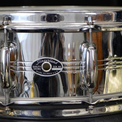 """Slingerland 5x14"""" Super Sound King Snare Drum - COB Dual Strainer"""